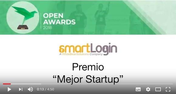Video entrega de premios Open Awards