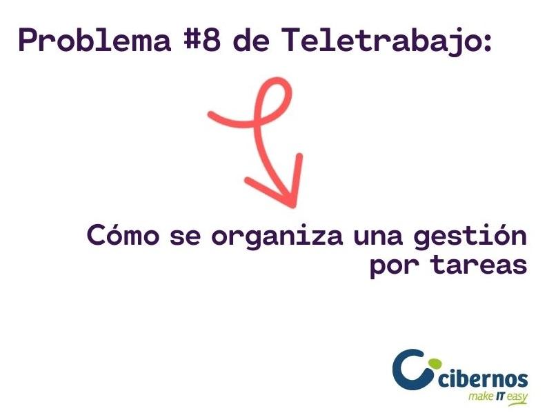 Problema #8 del Teletrabajo: Cómo se organiza una gestión por tareas
